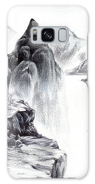 Misty Gorge Galaxy Case