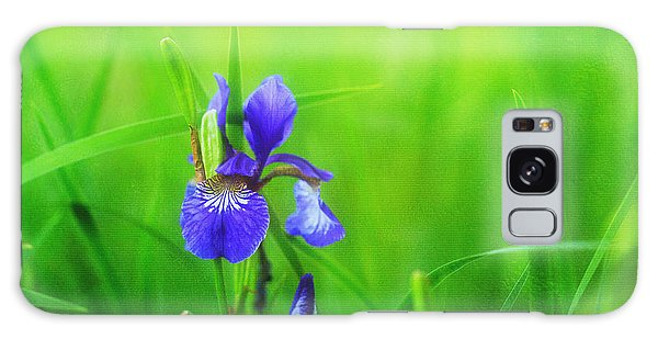 Misty Iris Galaxy Case by Beve Brown-Clark Photography