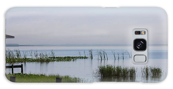 Misty Lake Galaxy Case