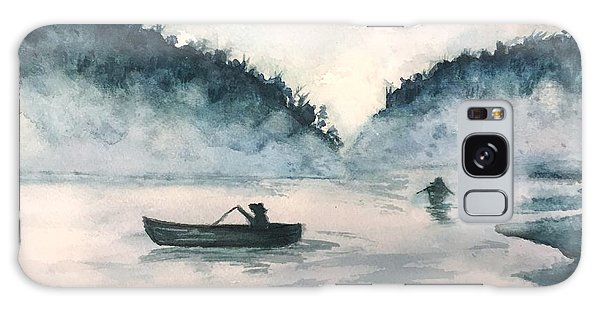 Misty Lake Galaxy Case