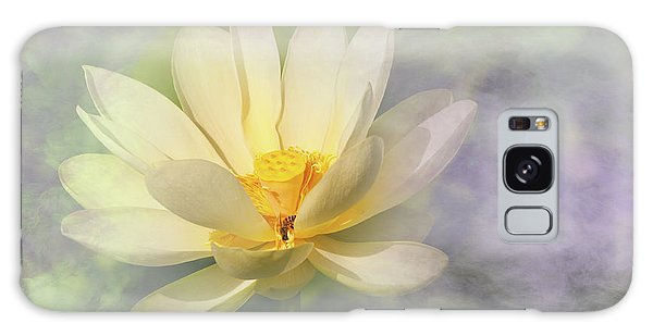 Misty Lotus Galaxy Case by Carolyn Dalessandro