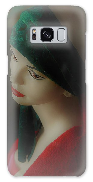 Galaxy Case featuring the photograph Misty Lucy by Nareeta Martin