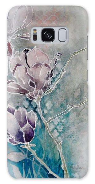 Misty Magnolias Galaxy Case