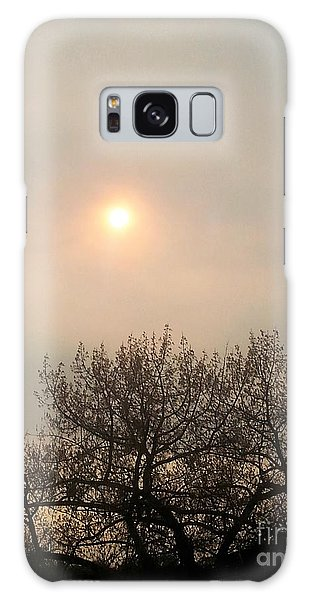 Lazy Hazy Sunset Galaxy Case