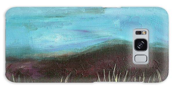 Misty Moors Galaxy Case by Donna Blackhall