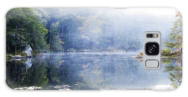Misty Morning At John Burroughs #1 Galaxy Case by Jeff Severson