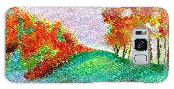 Misty Morning Galaxy Case by Elizabeth Fontaine-Barr