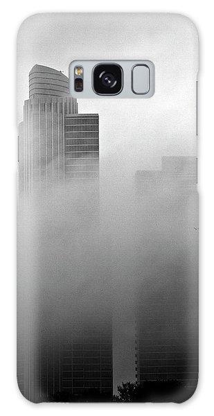 Misty Morning Flight Galaxy Case