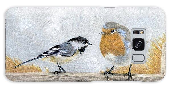Song Bird Galaxy Case - Feathered Friends by Sarah Batalka