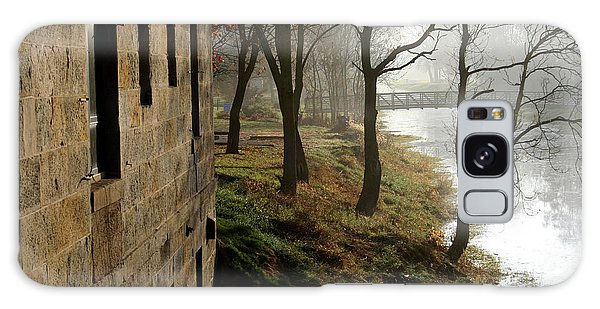 Misty Morning On The Illinois Michigan Canal  Galaxy Case