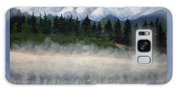 Misty Morning On The Mountain Galaxy Case
