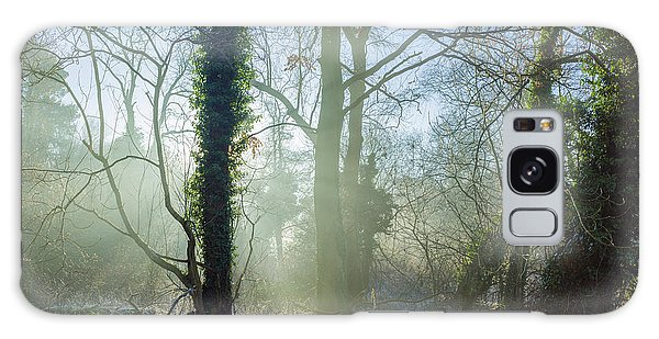 Misty Morning Galaxy Case