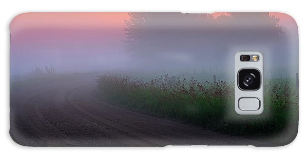 Misty Mornings Galaxy Case