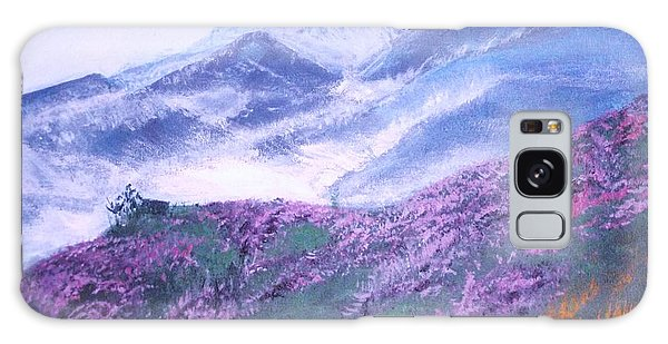 Misty Mountain Hop Galaxy Case by Donna Dixon