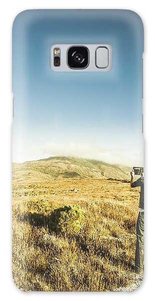 Smart Galaxy Case - Misty Mountain Travels by Jorgo Photography - Wall Art Gallery