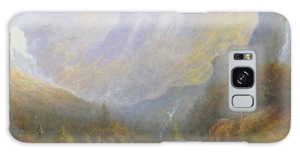 Misty Mountains Galaxy Case