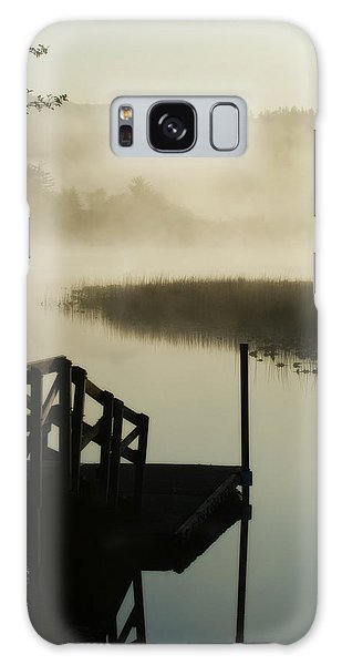Misty Oregon Morning Galaxy Case