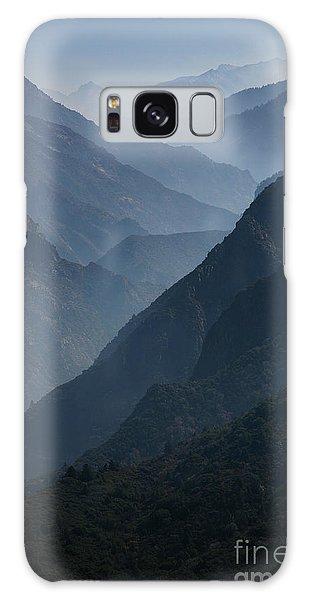 Misty Peaks Galaxy Case