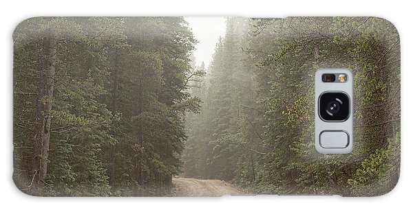 Galaxy Case featuring the photograph Misty Road by James BO Insogna