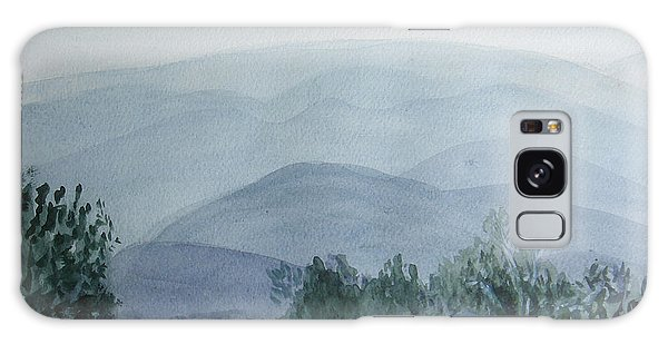 Misty Shenandoah Galaxy Case by Donna Walsh