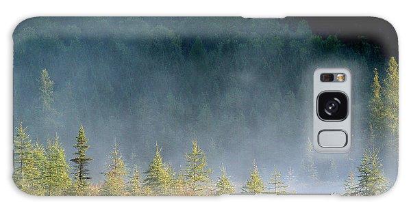 Misty Sunrise At Costello Creek Galaxy Case