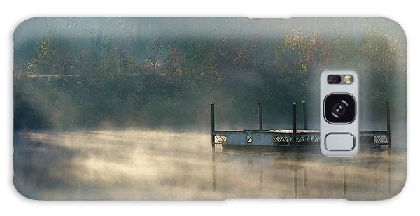 Misty Sunrise Galaxy Case by George Randy Bass