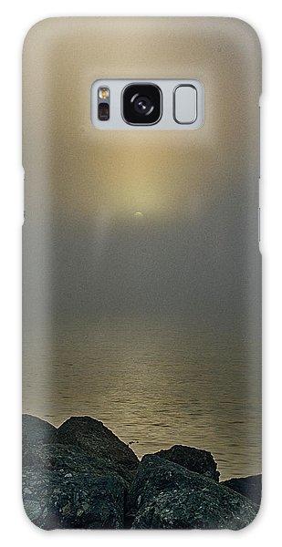 Misty Sunrise Morning Galaxy Case