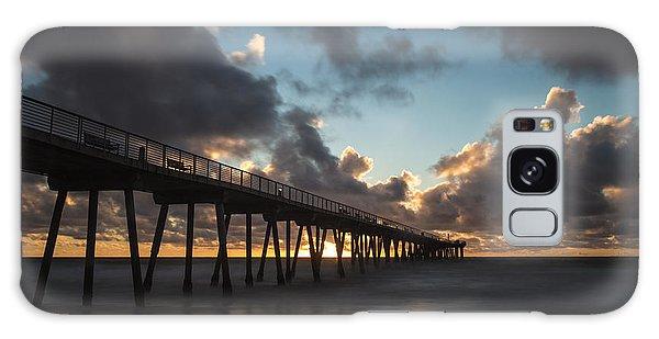 Misty Sunset Galaxy Case by Ed Clark