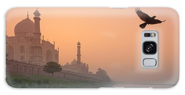 Misty Taj Mahal Galaxy Case