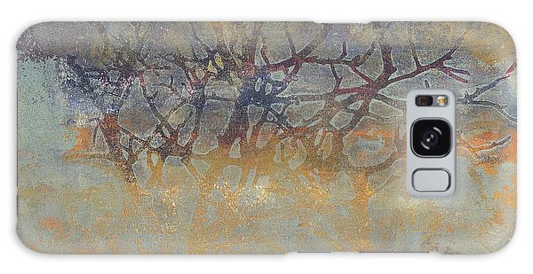 Misty Trees Galaxy Case