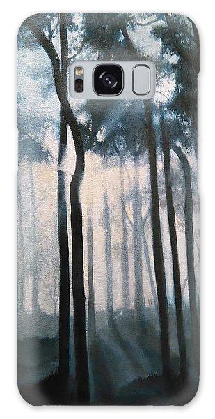 Misty Woods Galaxy Case