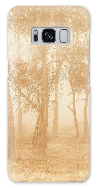 Ominous Galaxy Case - Misty Woods by Jorgo Photography - Wall Art Gallery