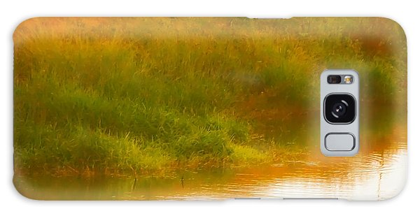 Misty Yellow Hue -lone Jacana Galaxy Case