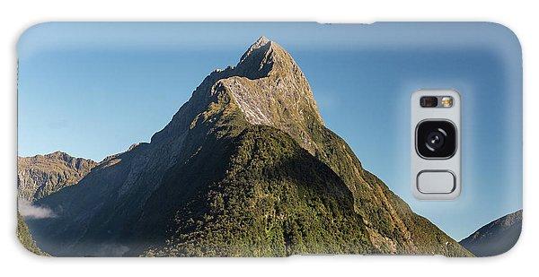 Galaxy Case featuring the photograph Mitre Peak Rahotu by Gary Eason