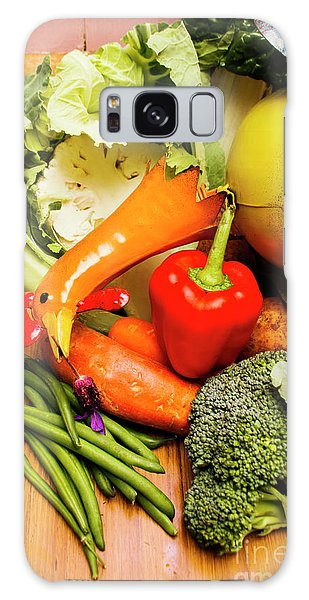 Decorative Galaxy Case - Mix Of Agriculture Produce by Jorgo Photography - Wall Art Gallery