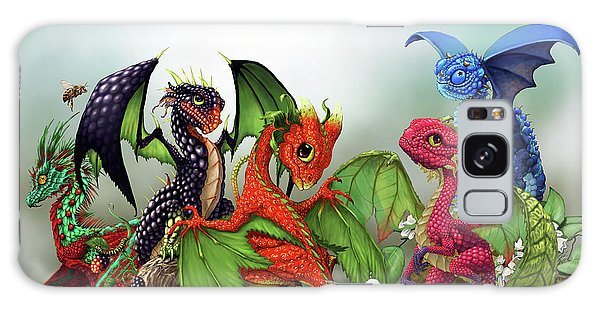 Mixed Berries Dragons Galaxy Case