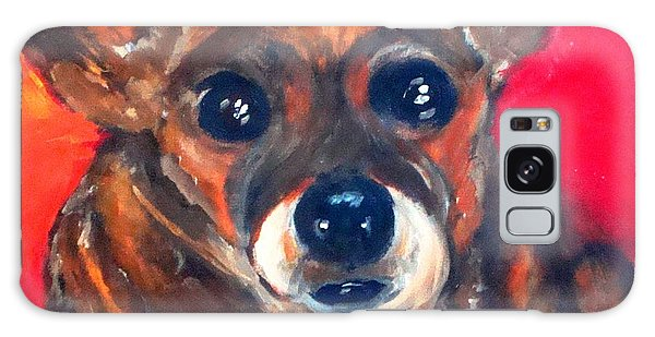 Mixed Breed- Sadie My Girl Galaxy Case by Laura  Grisham