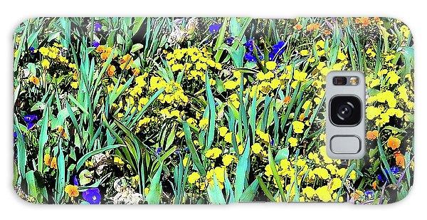 Mixed Flower Garden 515 Galaxy Case