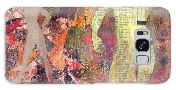 Mixed Media Galaxy Case by Patricia Cleasby
