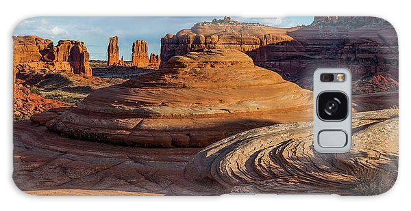 Moab Back Country Panorama 2 Galaxy Case