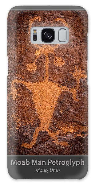 Moab Man Poster Galaxy Case by Gary Whitton