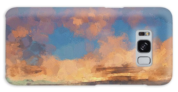 Moab Sunrise Abstract Painterly Galaxy Case by David Gordon