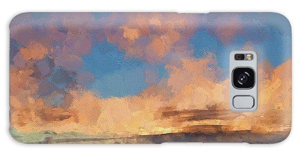 Moab Sunrise Abstract Painterly Galaxy Case by David Gordon