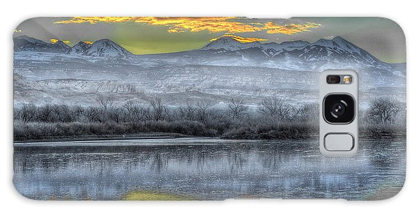 Moab Sunrise Galaxy Case by Wendell Thompson