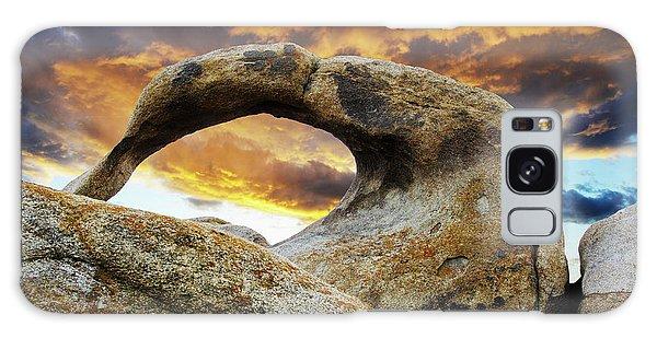 Mobious Arch California 7 Galaxy Case by Bob Christopher