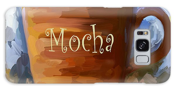 Mocha Coffee Cup Galaxy Case