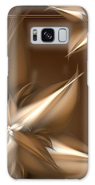 Mocha Cream Swirl Galaxy Case