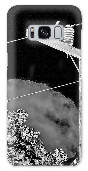 Mockingbird On A Wire Galaxy Case