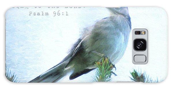 Mockingbird Scripture Galaxy Case