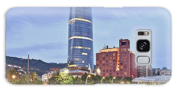 Modern Architecture Bilbao Spain Galaxy Case by Marek Stepan
